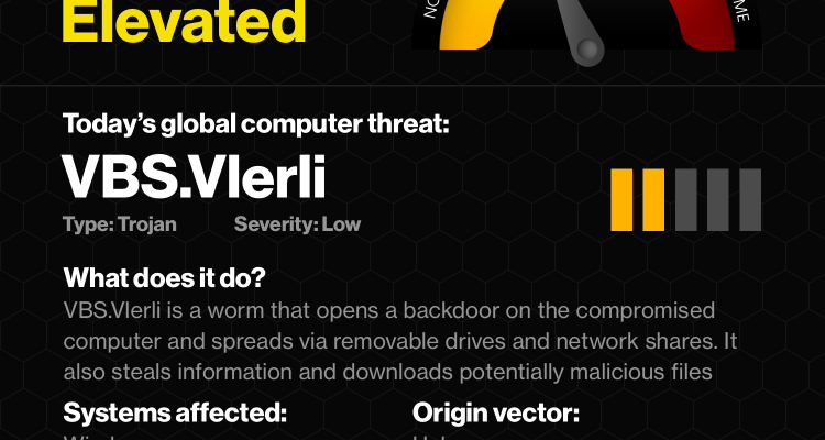 VBS.Vlerli worm infects Windows computers post 4th of July