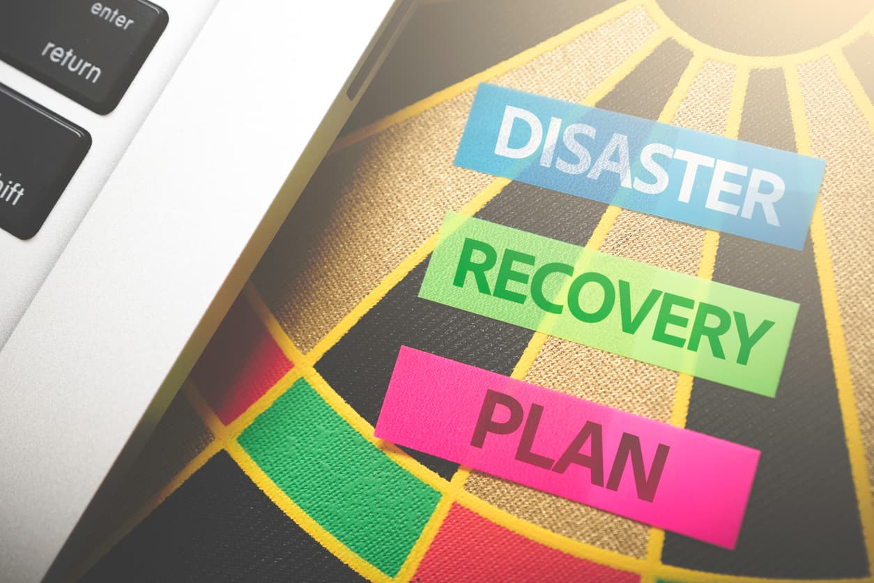 Disaster Recovery Plans concept